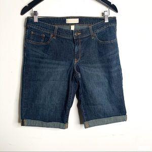 Banana Republic 30/10 Blue Faded Bermuda Shorts